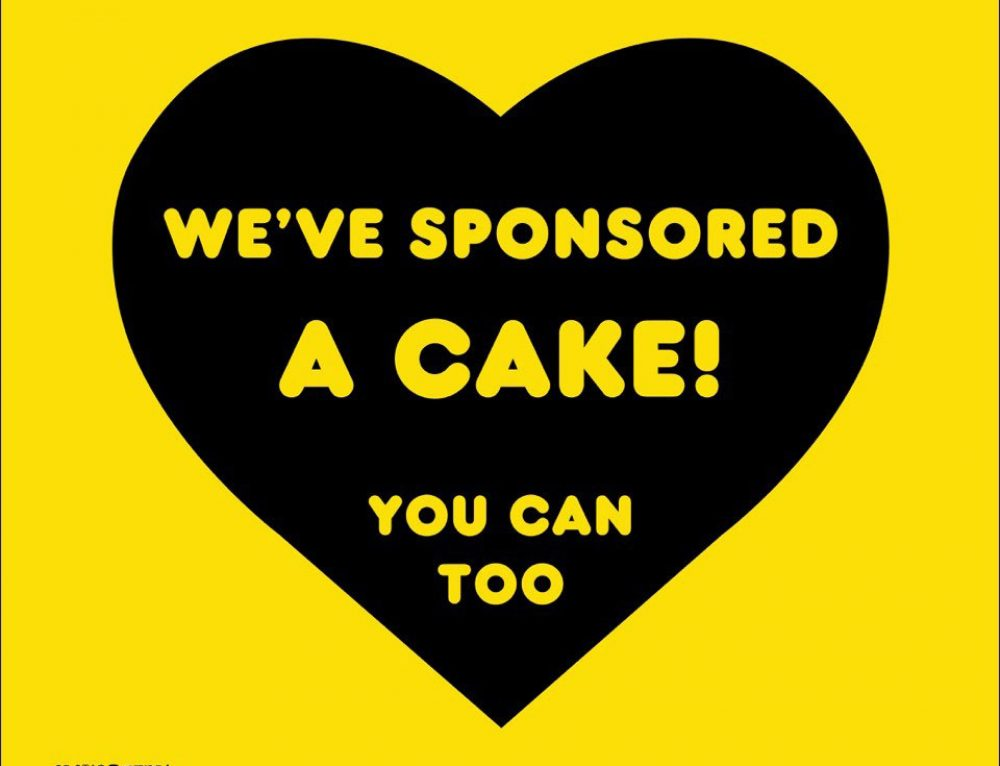 Epic Environmental have sponsored a cake with Ozharvest for their Cakes for a cause