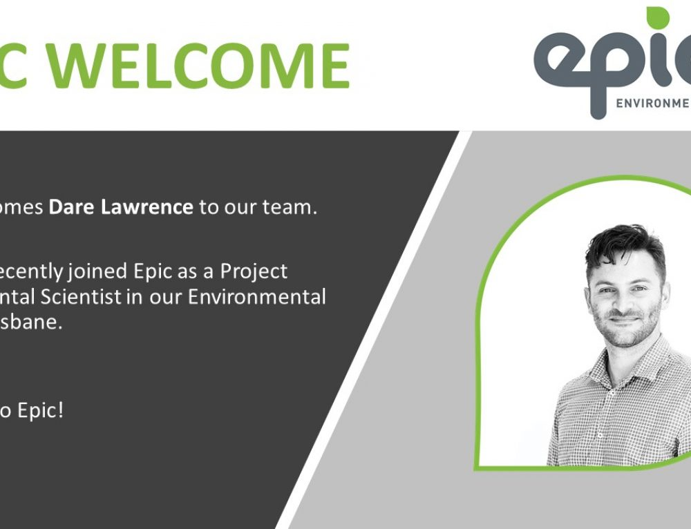 Epic Welcomes Dare Lawrence