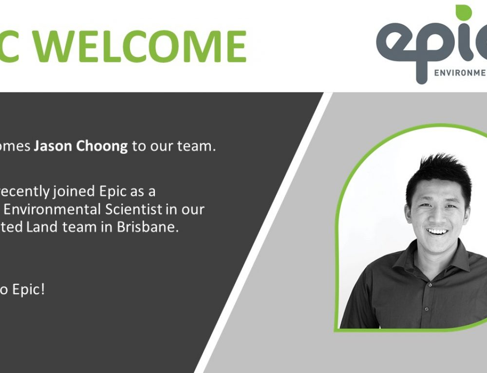Epic Welcomes Jason Choong