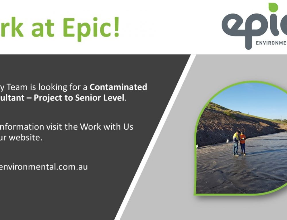 Join our Sydney Office, we are looking for a Contaminated Land Consultant – Senior Level