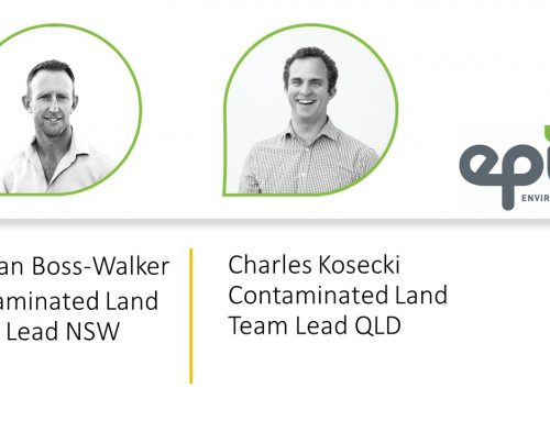 Team Changes – Contaminated Land in Queensland and NSW